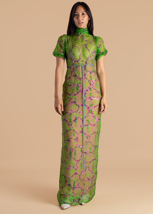 Lisa Folawiyo Layered Maxi Double Dress