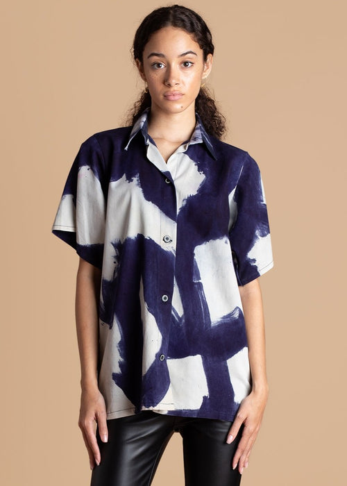 Short Sleeve Shirt by Mazelle Studio