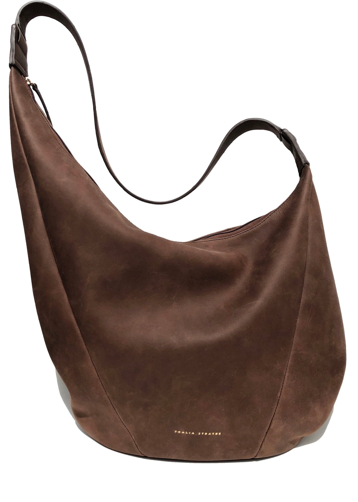 Thalia Strates slouchy soft leather bag