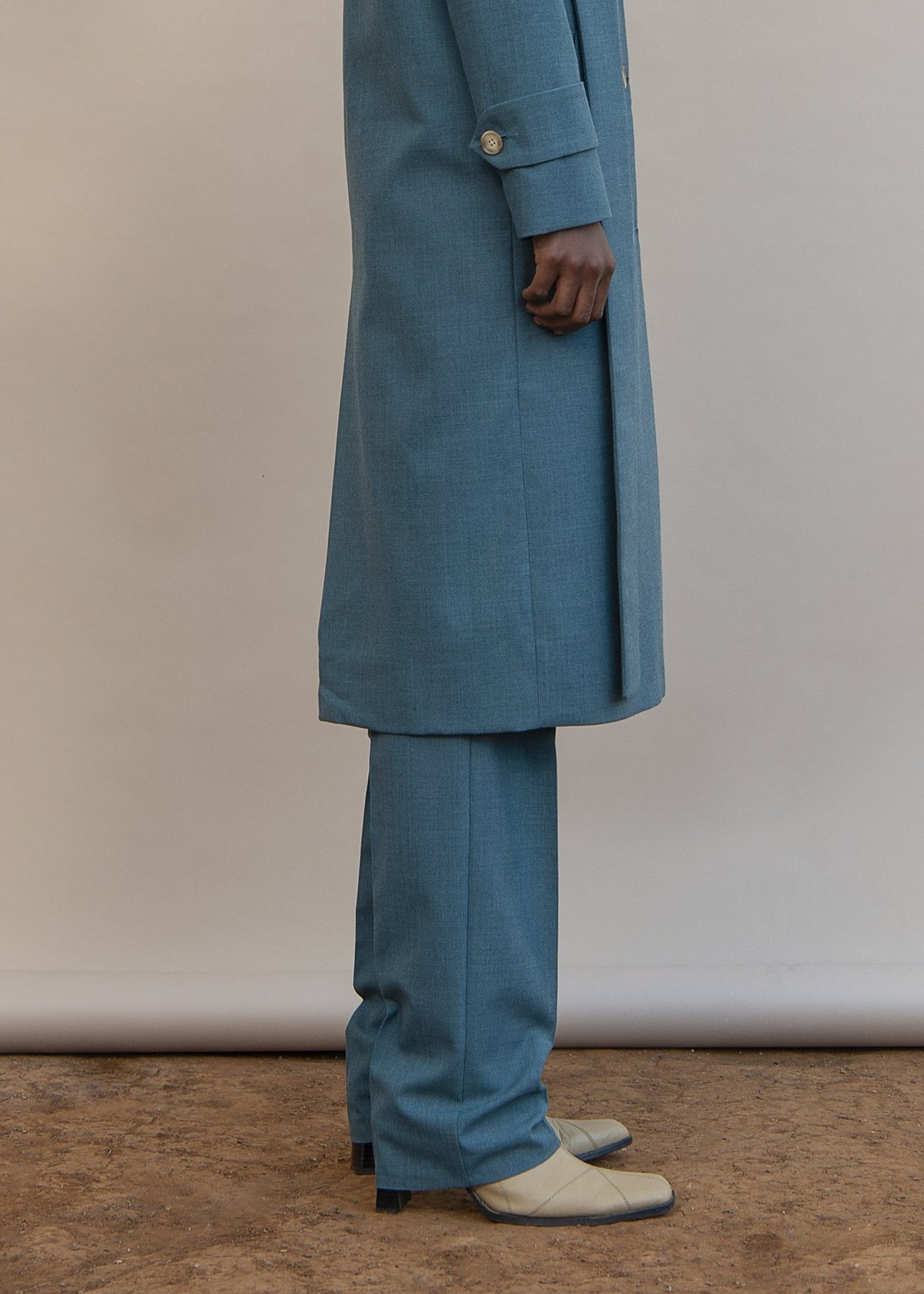 MmusoMaxwell wool blend tailored pants