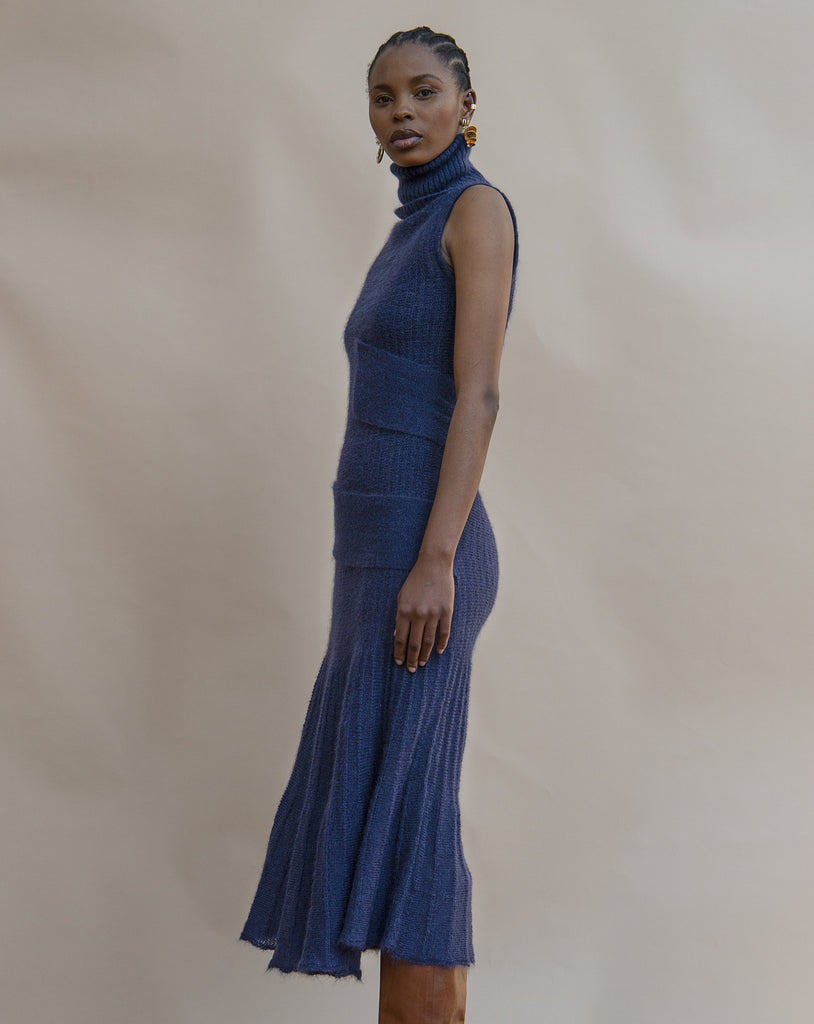 Shop the MmusoMaxwell Knitted Spiral Dress at The Folklore