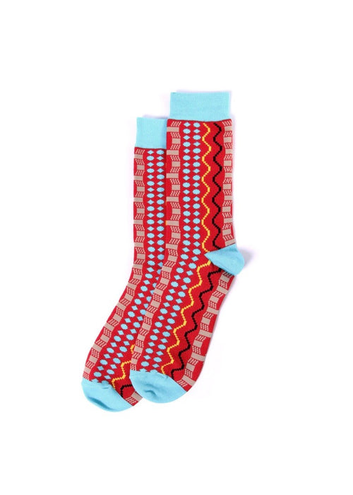 MaXhosa printed cotton sock