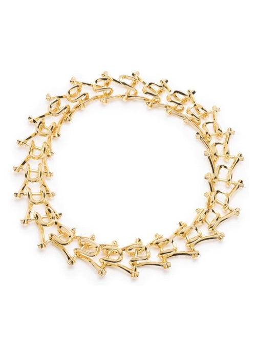 18K Gold Plated Brass Necklace