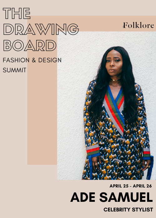 Ade Samuel | The Art of Celebrity Styling | The Drawing Board 2020