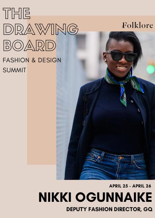 Nikki Ogunnaike | Diversity and Inclusion in Fashion Media | The Drawing Board 2020