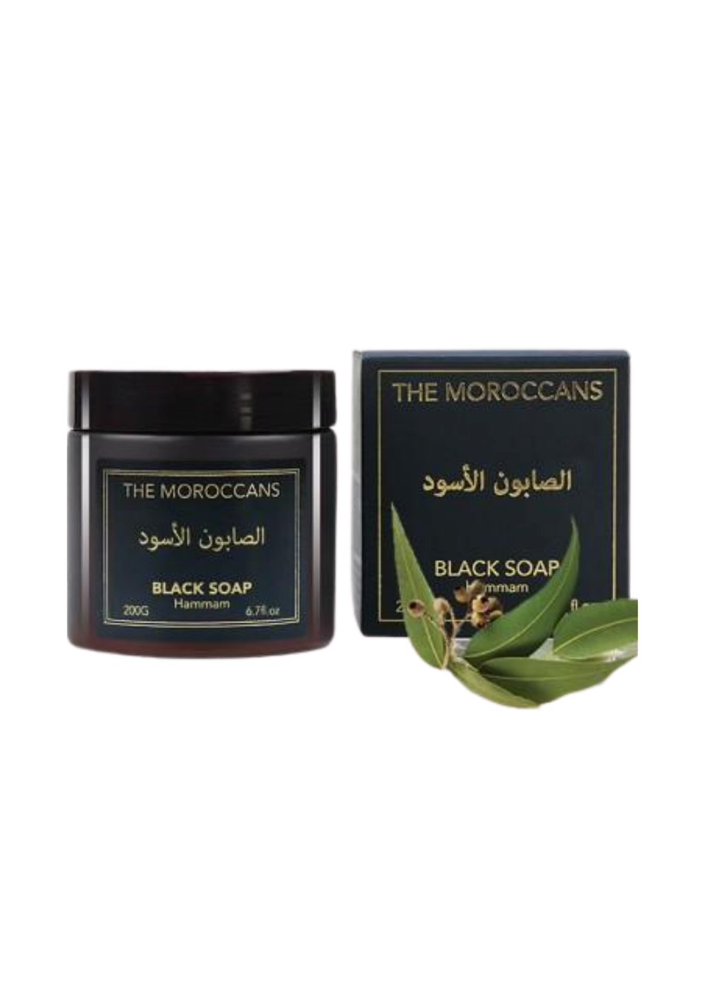 The Moroccans Black Soap