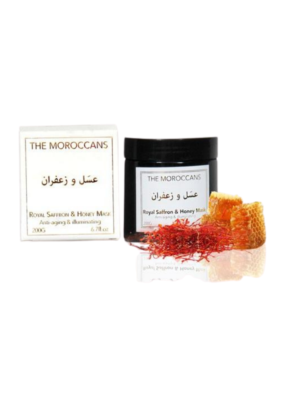 The Moroccans Royal Saffron & Honey Mask