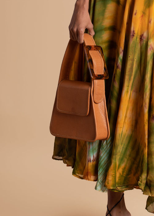 Brown EDAS Satchel