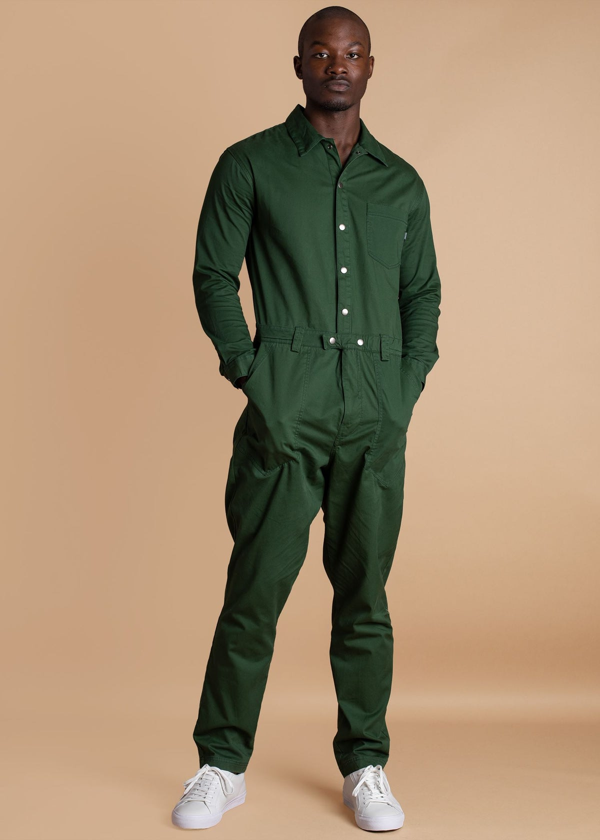 ALC Green Long Sleeve Boiler Suit
