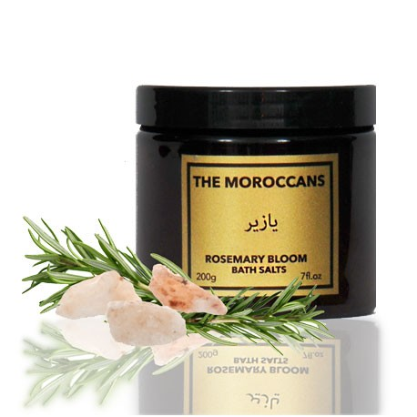 The Moroccans Rosemary Bloom Bath Salts