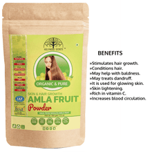 Organic Amla Vera Powder India Gooseberry (100 Gms)