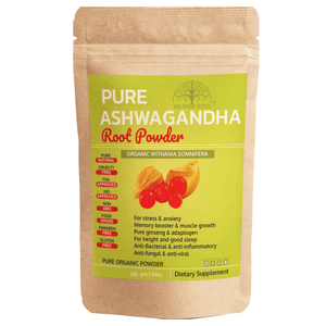 Pure Herb Ashwagandha Powder (200 Gms)