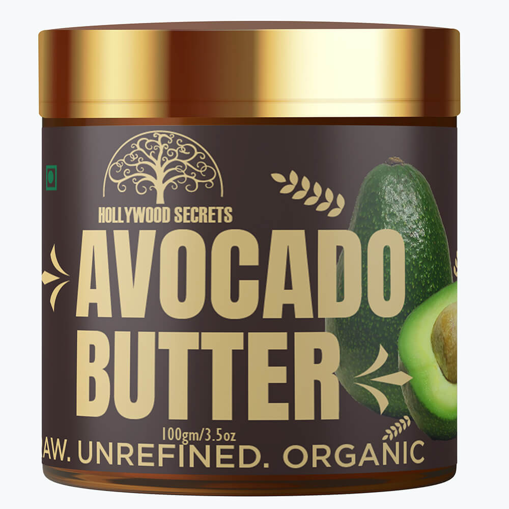 Hollywood Secrets Raw Unrefined Avocado Butter