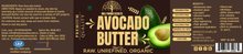 Load image into Gallery viewer, Raw Avocado Body Skin Butter (100Gms)