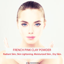 Load image into Gallery viewer, Pure French Pink Clay Powder 100Gms