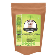 Organic Charcoal Seaweed Powder Peel Off Mask For Skin (100 Gms)