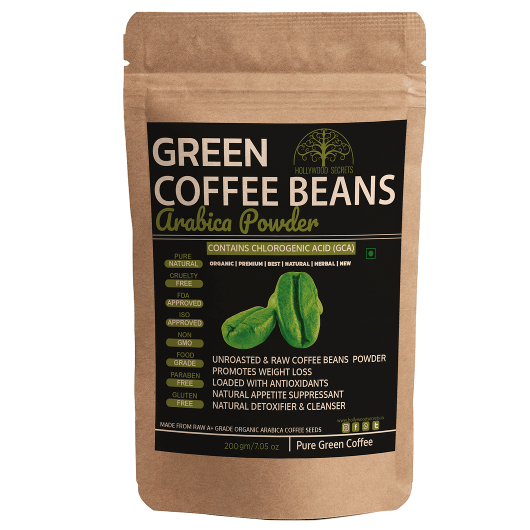 Hollywood Secrets Green Coffee Bean Powder