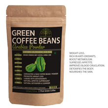 Load image into Gallery viewer, 100% Pure Arabica Green Coffee Beans Powder (200Gms)