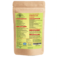 Load image into Gallery viewer, Organic Hibiscus Powder Food Grade (100 Gms)