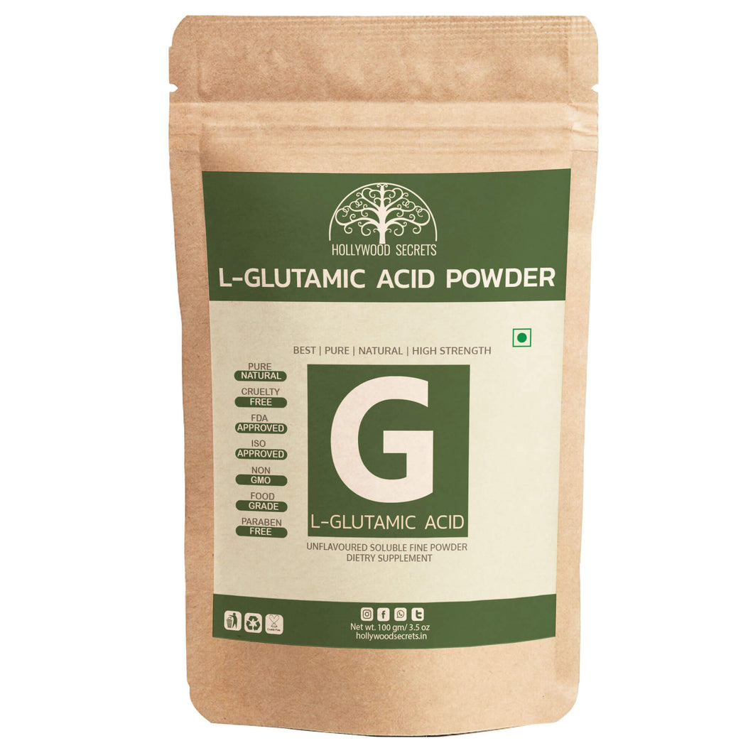 Hollywood Secrets L-Glutamic Acid Powder