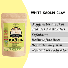 Load image into Gallery viewer, Pure Kaolin Clay Powder 100gm