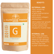 Load image into Gallery viewer, Pure L-Glutathione Powder 100gms