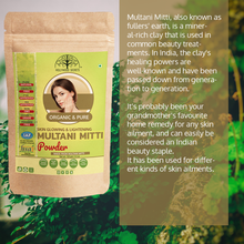 Load image into Gallery viewer, 100% Pure Multani Mitti Powder (Fuller Earth) Pack Of 3 (100 Gms)