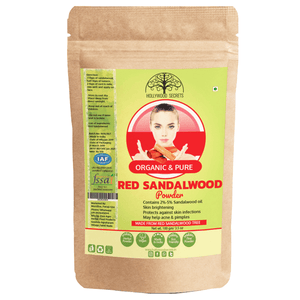 Organic Red Sandalwood Powder Lal Chandan Oil (100 Gms)