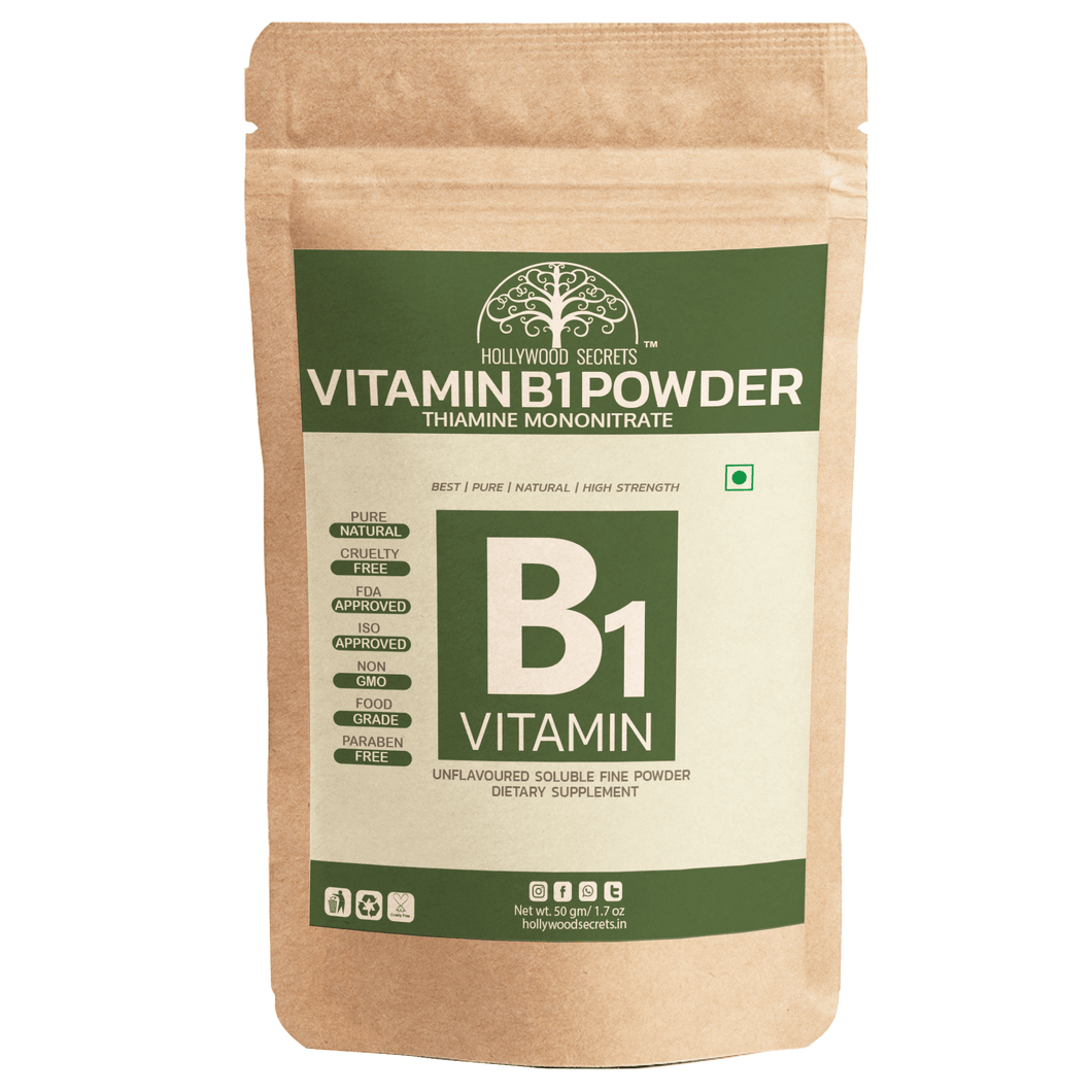 Vitamin B1 Thiamine Mononitrate Powder 50 gm