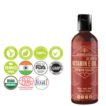 Load image into Gallery viewer, Pure Vitamin E Oil 100 ml