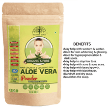 Load image into Gallery viewer, Organic Aloe Vera Leaf Powder (100 Gms)