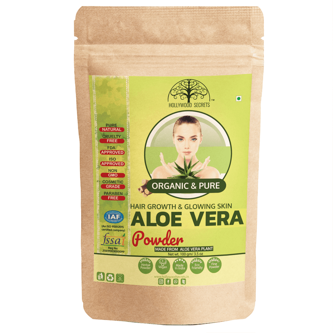 Hollywood Secrets Pure Aloe Vera Powder