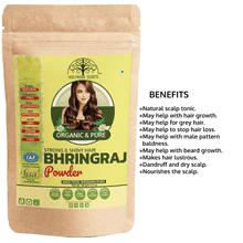 Load image into Gallery viewer, Organic Bhringraj Powder (100 Gms)