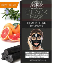 Load image into Gallery viewer, Hollywood Secrets Charcoal Peel off Mask