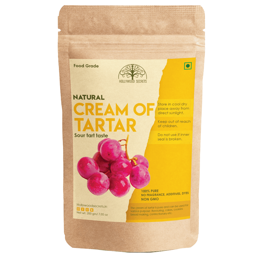 Pure Cream Of Tartar Powder (200 Gms)