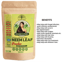 Load image into Gallery viewer, Organic Neem Leaf Powder (100 Gms)