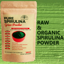 Load image into Gallery viewer, Organic Spirulina Powder 100Gms