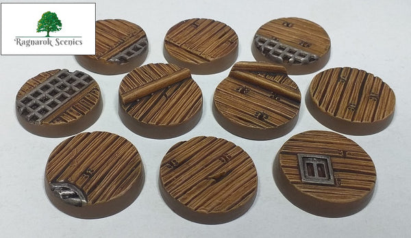 25mm Sea Dock (Bevelled)