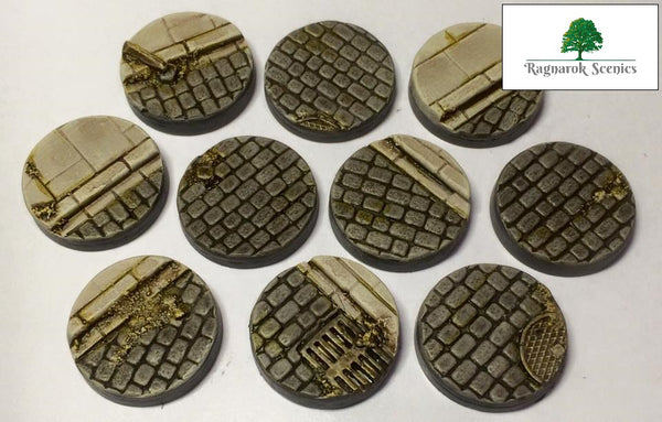 25mm Steampunk & Cobblestone #2 (Bevelled)