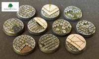 25mm Steampunk & Cobblestone #1 (Bevelled)