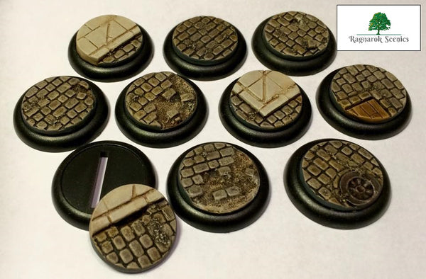 30mm Steampunk & Cobblestone #1 (Insert)