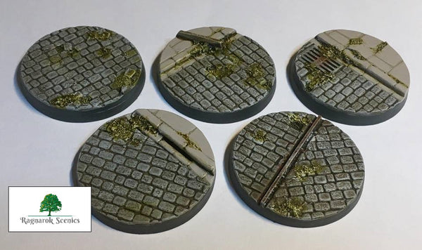 40mm Steampunk & Cobblestone #2 (Bevelled)