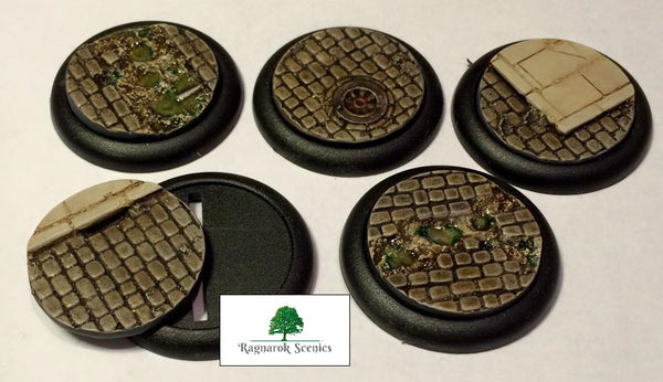 40mm Steampunk & Cobblestone #1 (Insert)