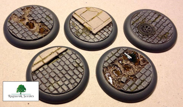 40mm Steampunk & Cobblestone #1 (Lipped)