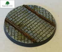 50mm Steampunk & Cobblestone #2 (Bevelled)