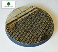 50mm Steampunk & Cobblestone #4 (Bevelled)