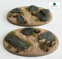 90x52mm Wild Lands (Bevelled)