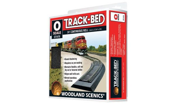 Track Bed Roll - O Scale