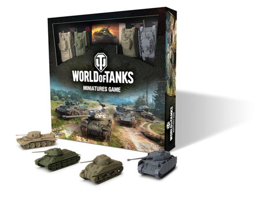 World of Tanks : Miniatures Game Starter Set