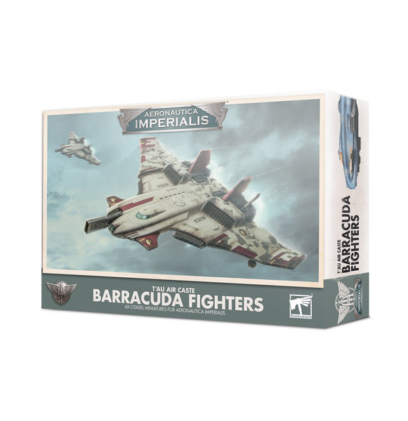 T'au Air Caste Barracuda Fighters